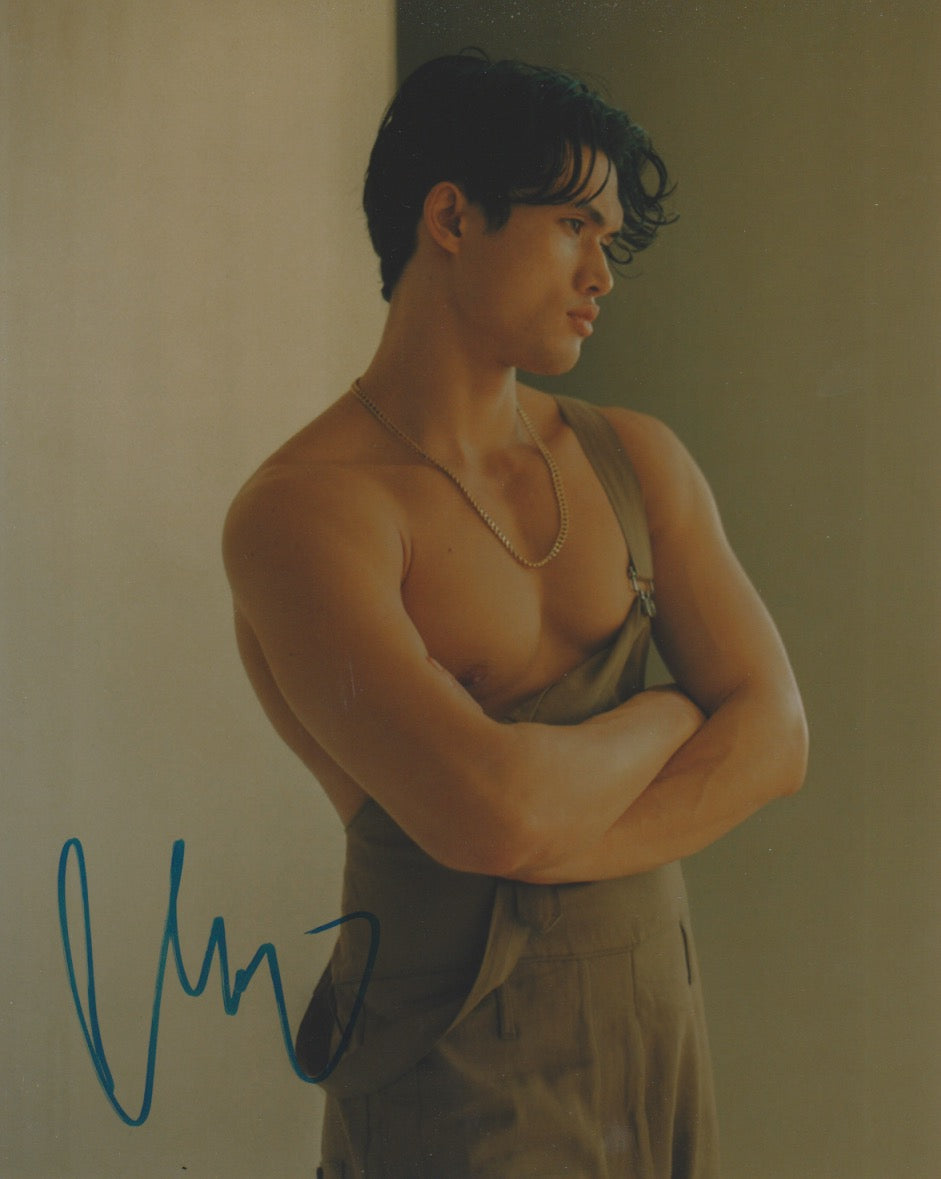 Charles Melton Riverdale Signed Autograph 8x10 Photo - Outlaw Hobbies Authentic Autographs