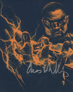 Cress Williams Black Lightning Signed Autograph 8x10 Photo Arrowverse #4 - Outlaw Hobbies Authentic Autographs