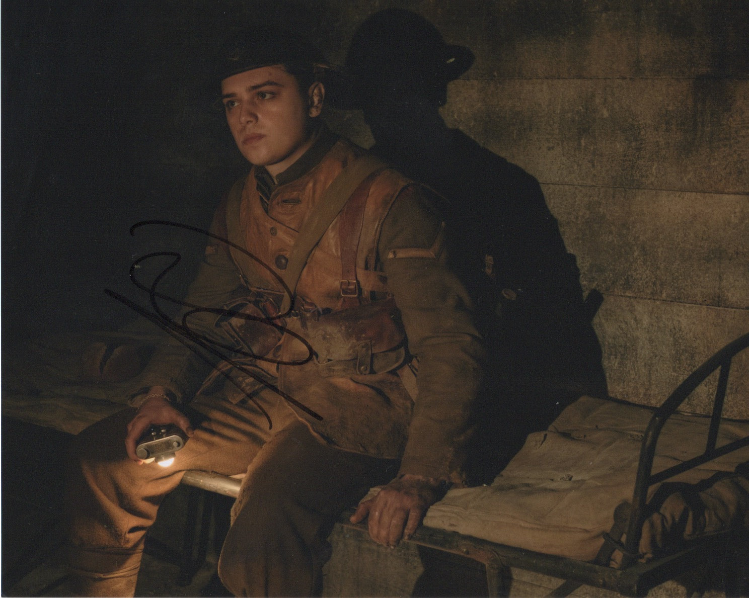 Dean Charles Chapman 1917 Autograph Signed 8x10 photo #2 - Outlaw Hobbies Authentic Autographs