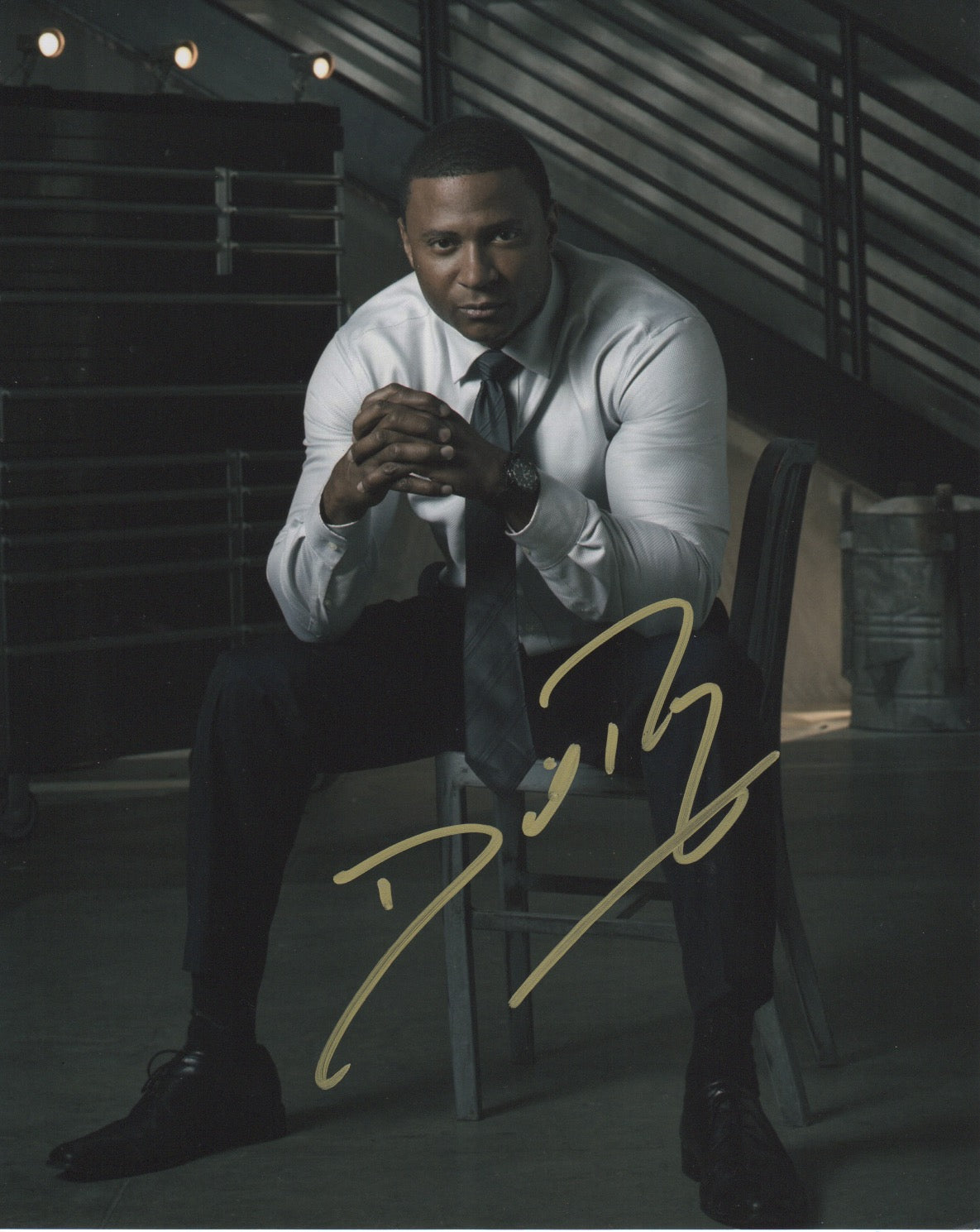 David Ramsey Arrow Signed Autograph 8x10 Photo