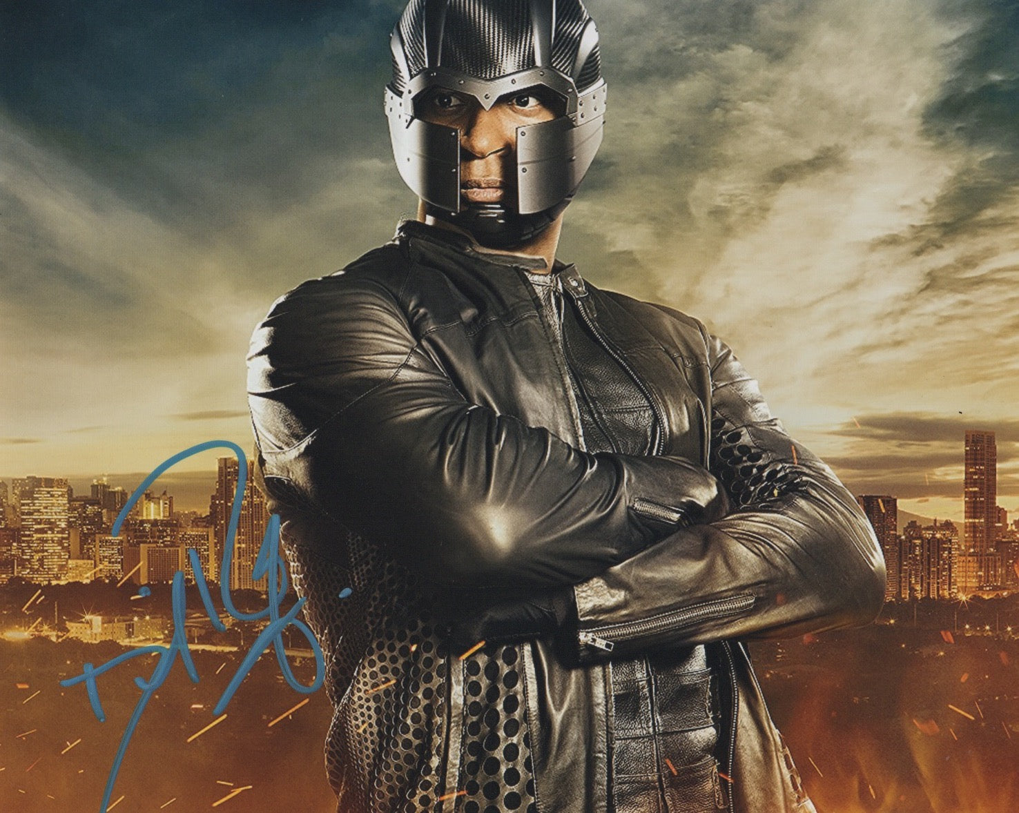 David Ramsey Arrow Signed Autograph 8x10 Photo - Outlaw Hobbies Authentic Autographs