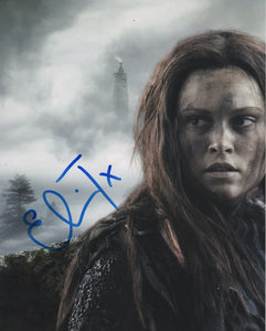Eliza Taylor The 100 Signed Autograph 8x10 Photo - Outlaw Hobbies Authentic Autographs