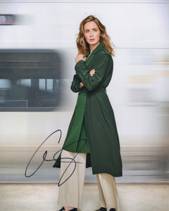 Emily Blunt Girl on the Train Signed Autograph 8x10 Photo - Outlaw Hobbies Authentic Autographs