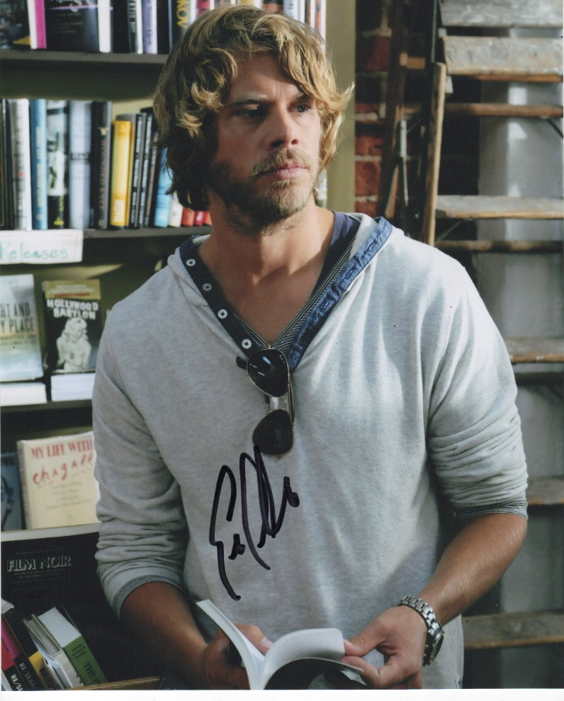 Eric Christian Olsen NCIS SIgned Autograph 8x10 COA #3 - Outlaw Hobbies Authentic Autographs