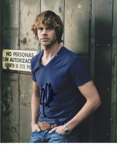Eric Christian Olsen NCIS Up SIgned Autograph 8x10 COA #5 - Outlaw Hobbies Authentic Autographs