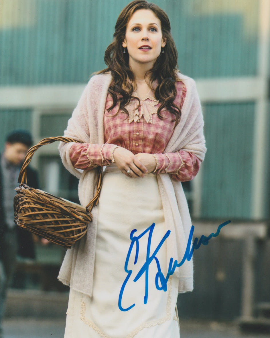 Erin Krakow When Calls The Heart Signed Autograph 8x10 Photo #4 - Outlaw Hobbies Authentic Autographs