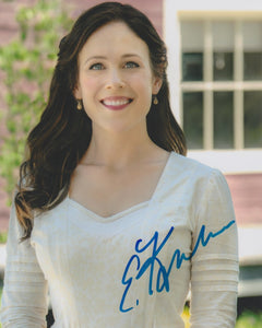 Erin Krakow When Calls The Heart Signed Autograph 8x10 Photo #3