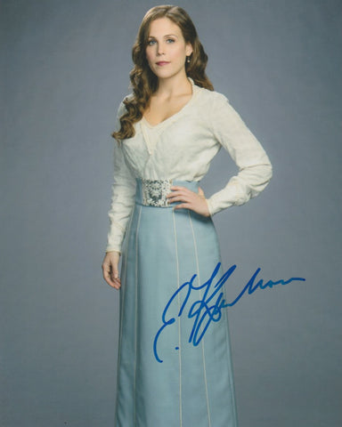 Erin Krakow When Calls The Heart Signed Autograph 8x10 Photo - Outlaw Hobbies Authentic Autographs