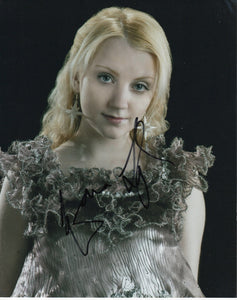 Evanna Lynch Harry Potter Signed Autograph 8x10 Photo #10