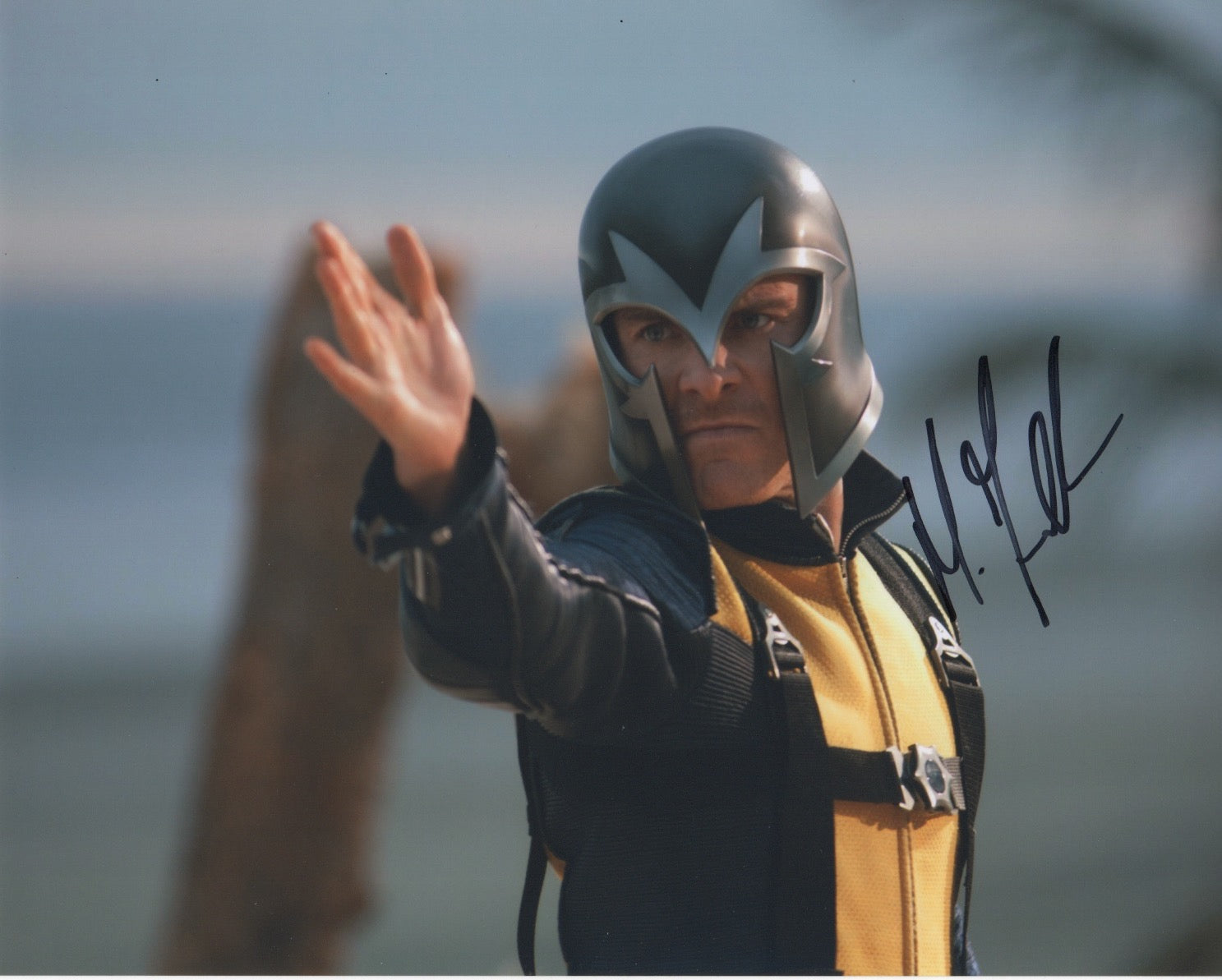 Michael Fassbender X-Men Signed Autograph 8x10 Photo #2