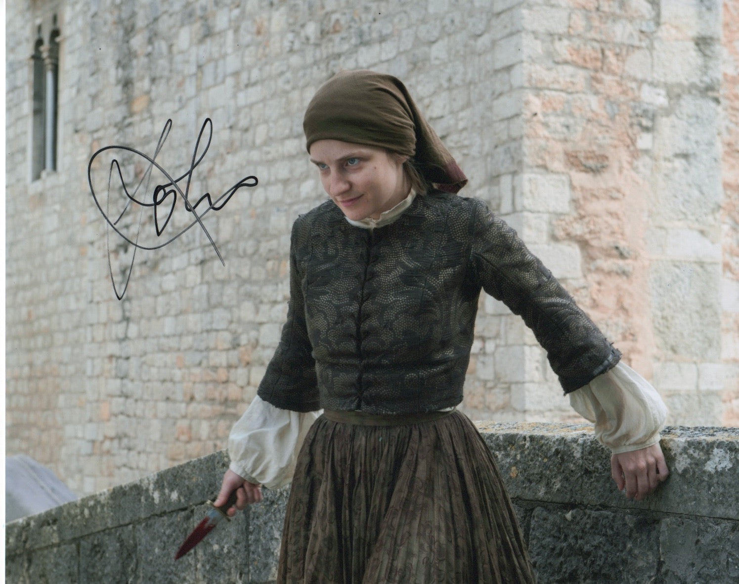Faye Marsey Game of Thrones Signed Autograph 8x10 Photo #2