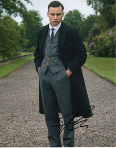Finn Cole Peaky Blinders Autograph 8x10 Photo Signed - Outlaw Hobbies Authentic Autographs