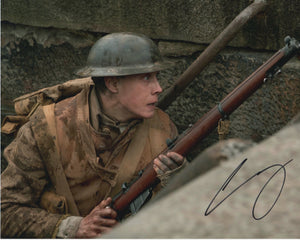 George Mackay 1917 Signed Autograph 8x10 Photo #2