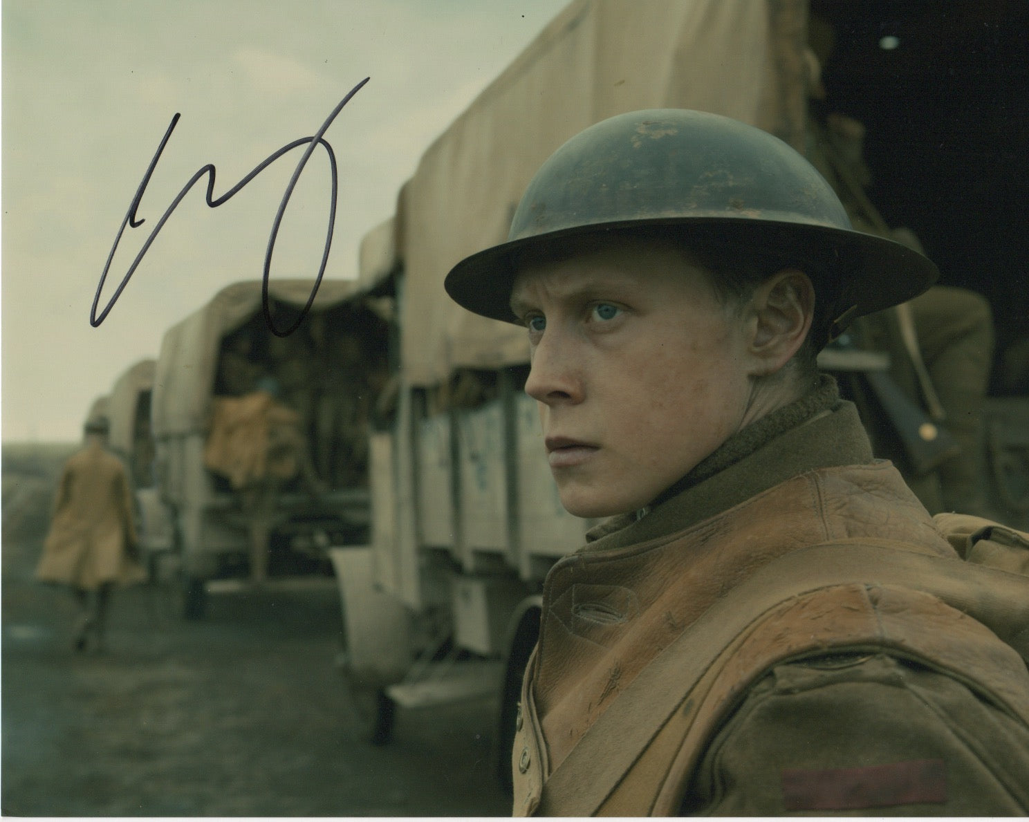 George Mackay 1917 Signed Autograph 8x10 Photo #4