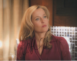 Gillian Anderson X-Files Signed Autograph 8x10 Photo - Outlaw Hobbies Authentic Autographs