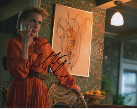 Gillian Anderson Sex Education Signed Autograph 8x10 Photo #2