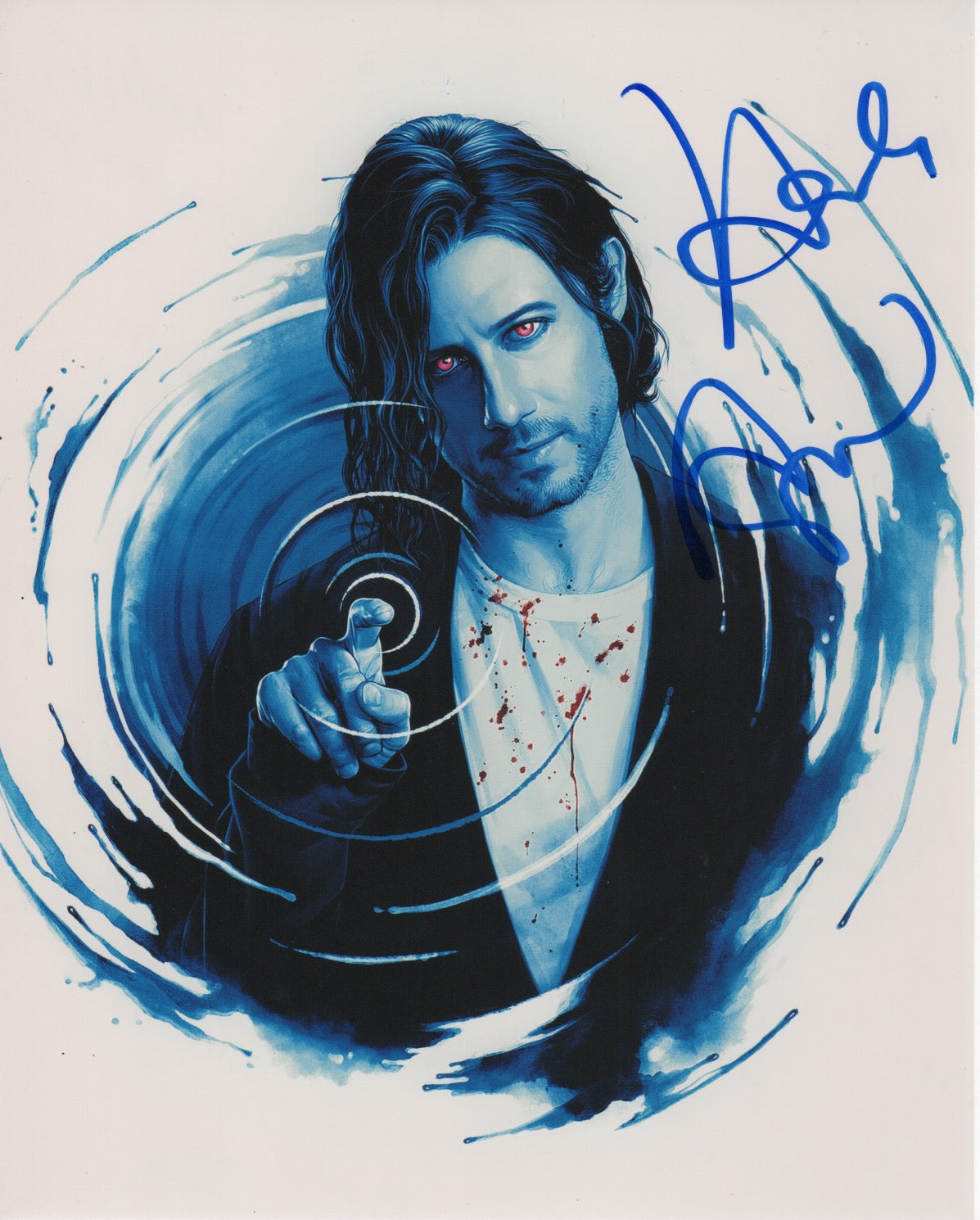 Hale Appleman Magicians Signed Autograph 8x10 Photo #8 - Outlaw Hobbies Authentic Autographs