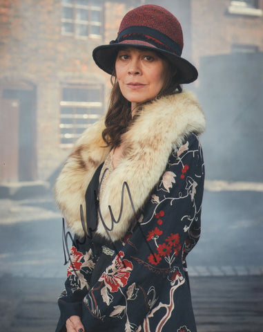 Helen McCrory Peaky Blinders Signed Autograph 8x10 Photo