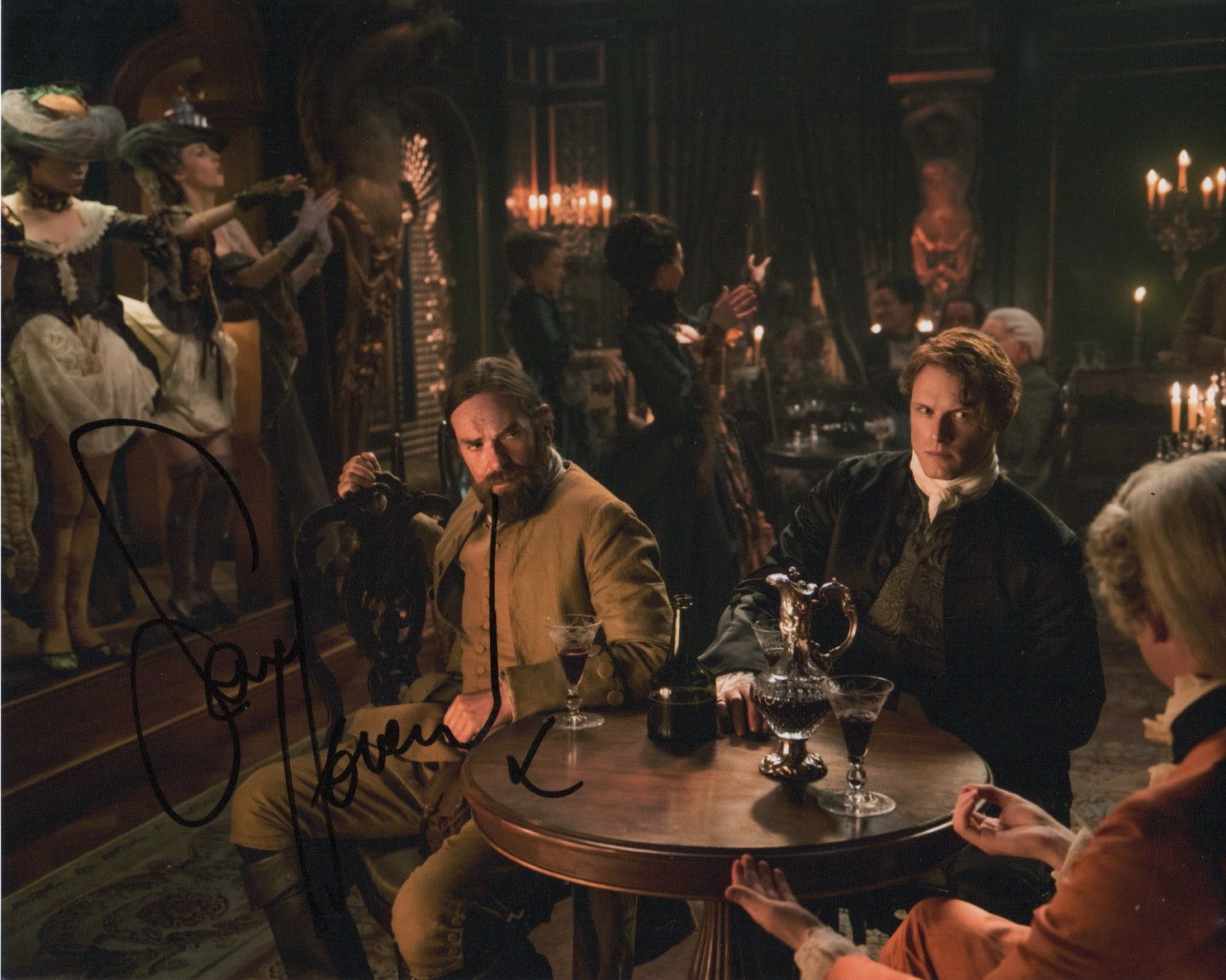 Sam Heughan Outlander Signed Autograph 8x10 Photo #4