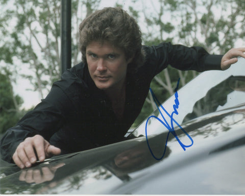 David Hasselhoff Knight Rider Autograph 8x10 Photo #2 - Outlaw Hobbies Authentic Autographs