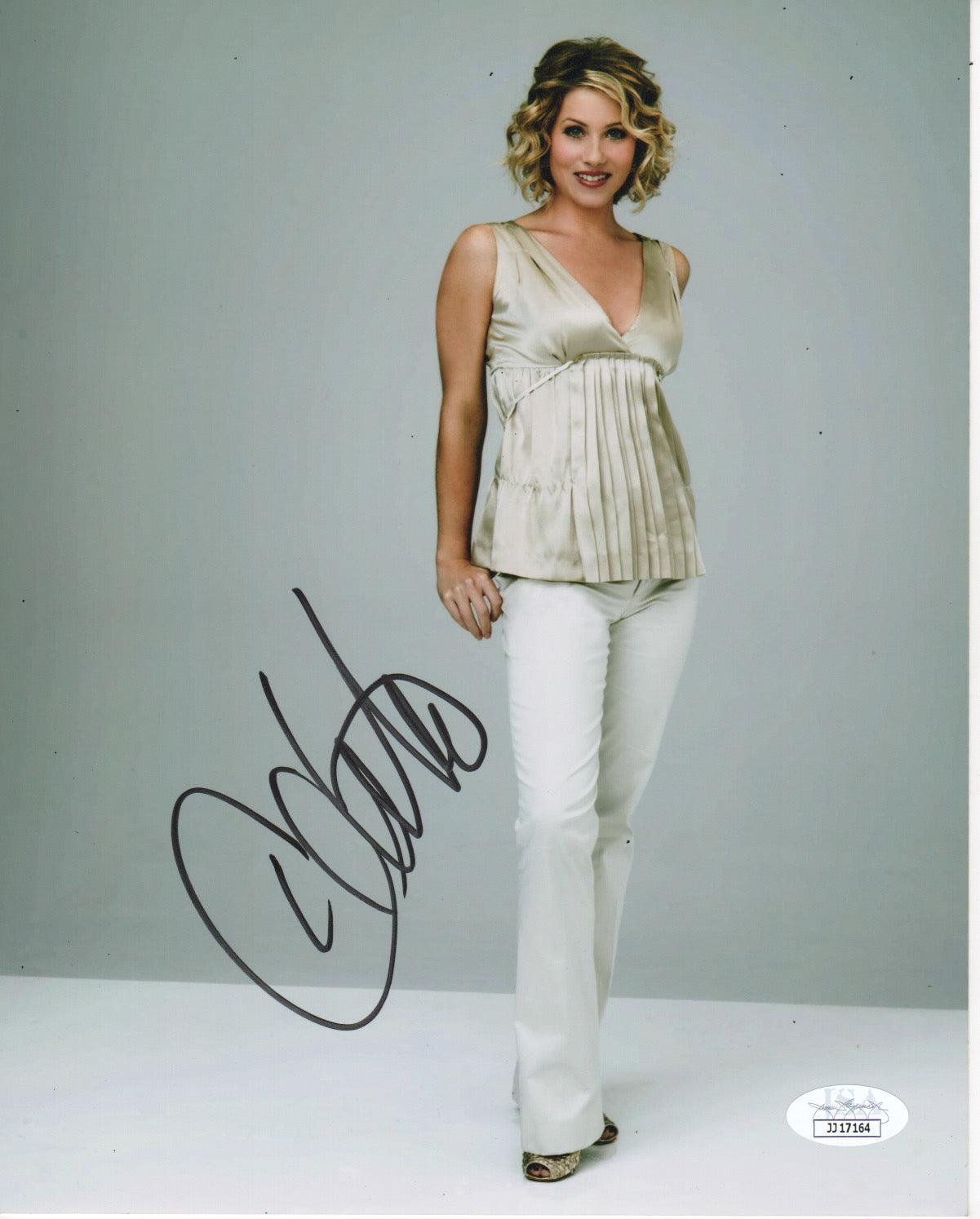Christina Applegate Sexy Signed Autograph 8x10 JSA Photo #2 - Outlaw Hobbies Authentic Autographs