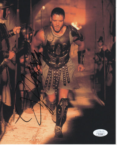 Russell Crowe Gladiator Signed Autograph 8x10 Photo JSA Authentic - Outlaw Hobbies Authentic Autographs