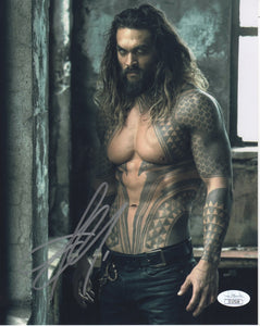 Jason Momoa Aquaman Signed Autograph 8x10 Photo JSA COA #3 - Outlaw Hobbies Authentic Autographs