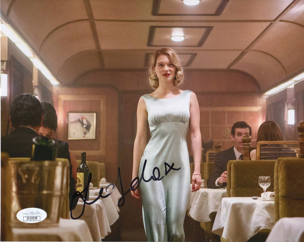 Lea Seydoux Sexy Bond Signed Autograph 8x10 Photo #4 - Outlaw Hobbies Authentic Autographs