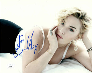 Kate Winslet Sexy Signed Autograph 8x10 Photo JSA Authentic #4 - Outlaw Hobbies Authentic Autographs