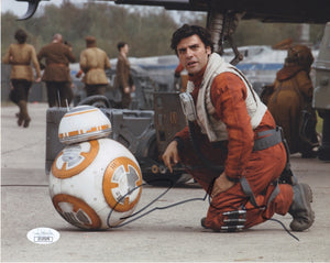 Oscar Isaac Star Wars Signed Autograph 8x10 Photo JSA Authentic - Outlaw Hobbies Authentic Autographs