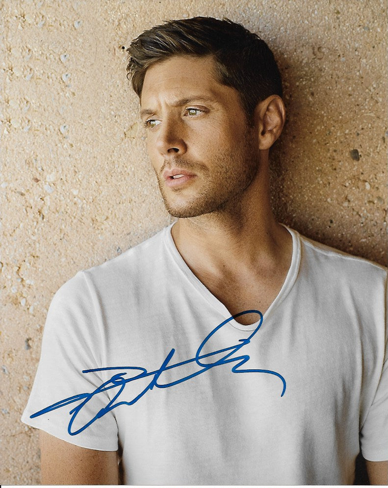 Jensen Ackles Supernatural Signed Autograph 8x10 Photo #3 - Outlaw Hobbies Authentic Autographs