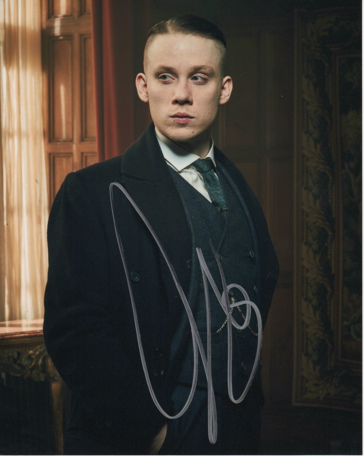Joe Cole Peaky Blinders Signed Autograph 8x10 Photo #2 - Outlaw Hobbies Authentic Autographs