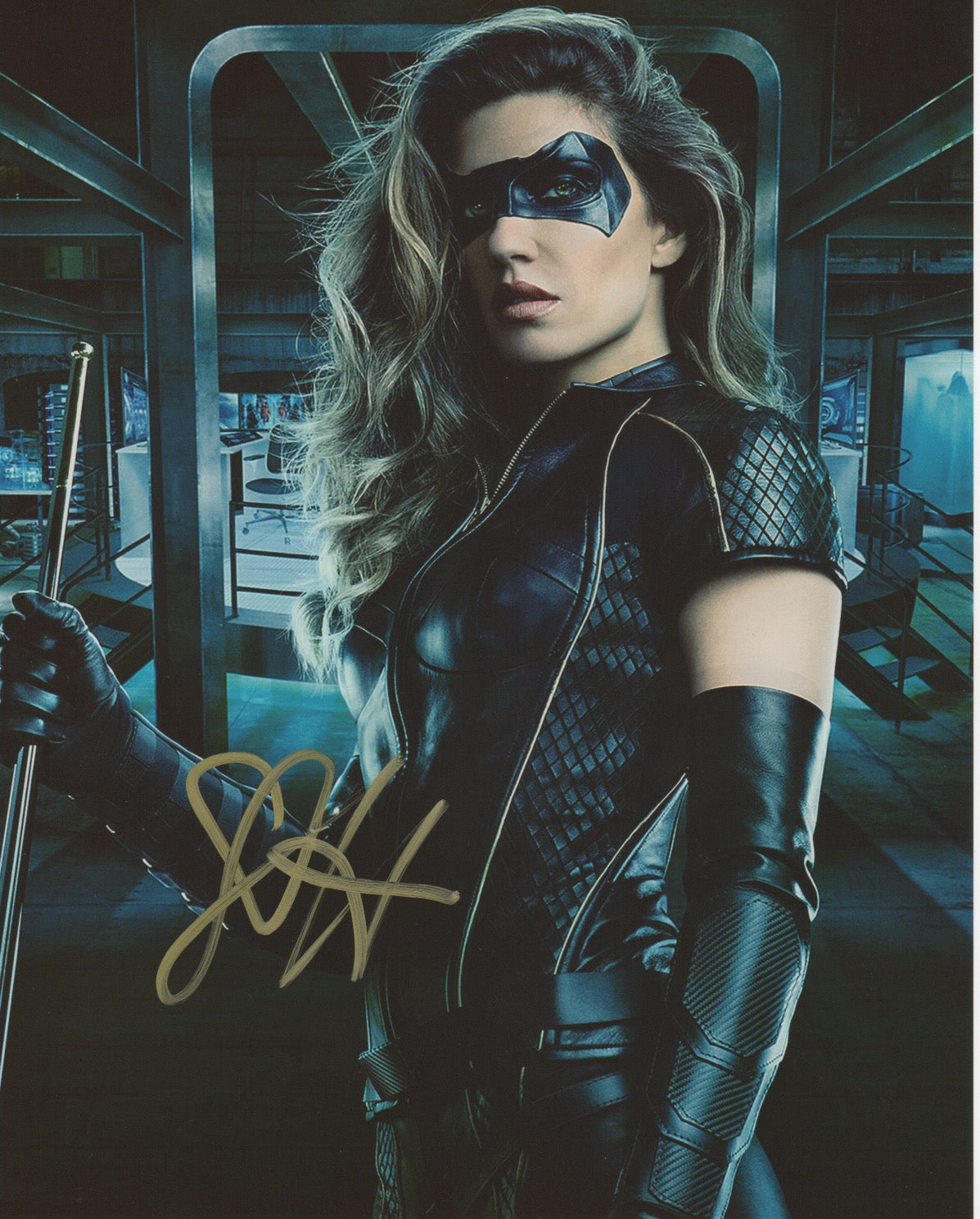 Juliana Harkavy Arrow Signed Autograph 8x10 Photo #1