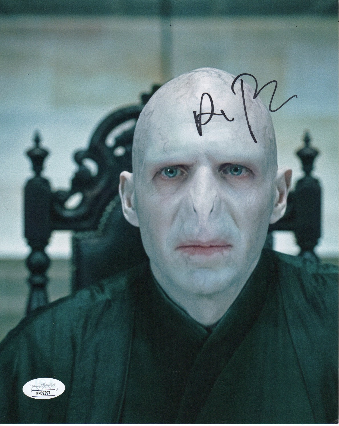 Ralph Fiennes Harry Potter Signed Autograph 8x10 Photo JSA Authentic #7