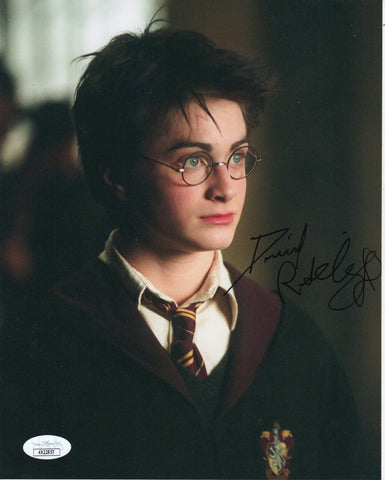 Daniel Radcliffe Harry Potter Signed Autograph 8x10 JSA Authentic Photo #4