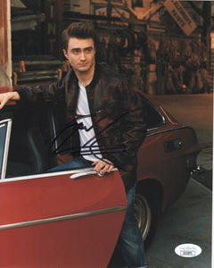 Daniel Radcliffe Harry Potter Signed Autograph 8x10 JSA Authentic Photo #17