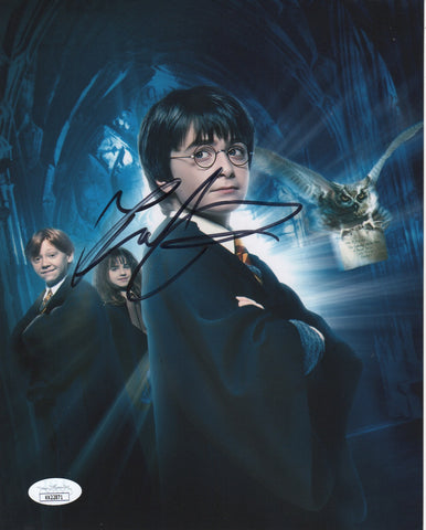 Daniel Radcliffe Harry Potter Signed Autograph 8x10 JSA Authentic Photo #18