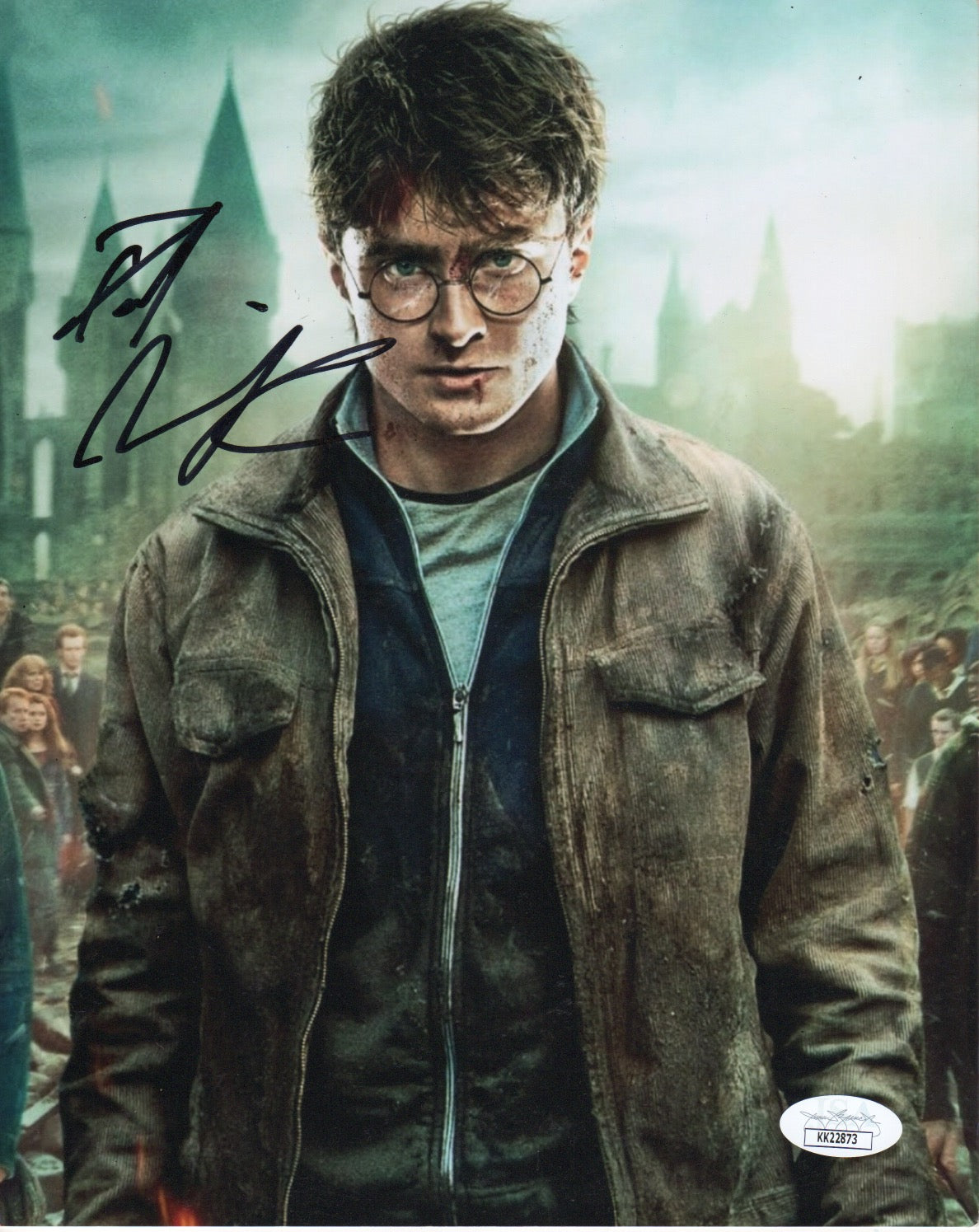 Daniel Radcliffe Harry Potter Signed Autograph 8x10 JSA Authentic Photo #20
