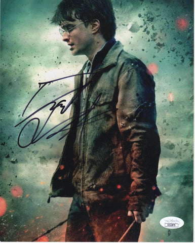 Daniel Radcliffe Harry Potter Signed Autograph 8x10 JSA Authentic Photo #26 - Outlaw Hobbies Authentic Autographs