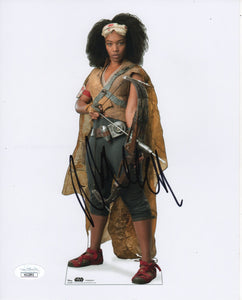 Naomi Ackie Jannah  Star Wars Signed Autograph JSA