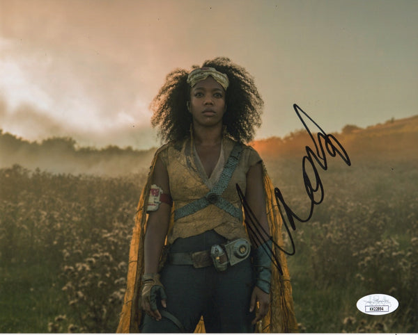 Naomi Ackie Jannah  Star Wars Signed Autograph JSA #4