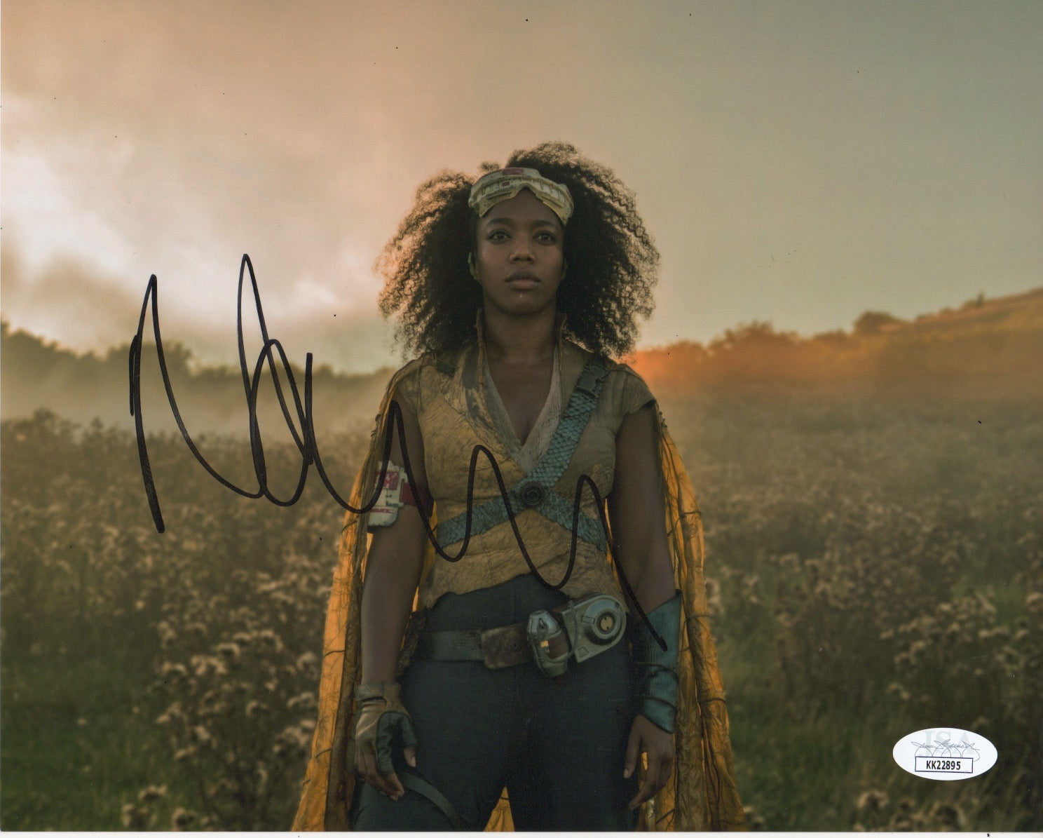 Naomi Ackie Jannah  Star Wars Signed Autograph JSA #5