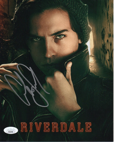 Cole Sprouse Riverdale Signed Autograph 8x10 Photo JSA #12 - Outlaw Hobbies Authentic Autographs