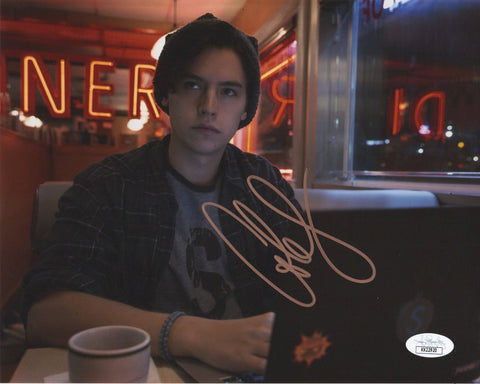 Cole Sprouse Riverdale Signed Autograph 8x10 Photo JSA #14 - Outlaw Hobbies Authentic Autographs