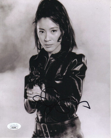 Michelle Yeoh Bond Signed Autograph 8x10 Photo ACOA