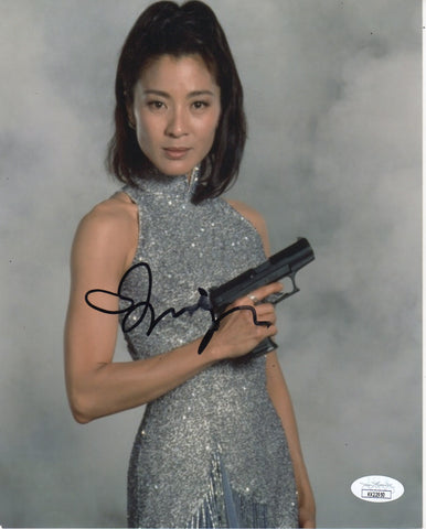 Michelle Yeoh Bond Signed Autograph 8x10 Photo JSA