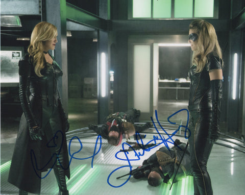 Katie Cassidy Juliana Harkavy Arrow Autograph 8x10 Photo Signed