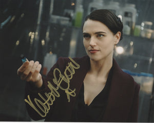 Katie McGrath Signed Autograph 8x10 Photo Supergirl #20