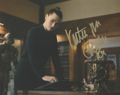 Katie McGrath Signed Autograph 8x10 Photo Supergirl #10