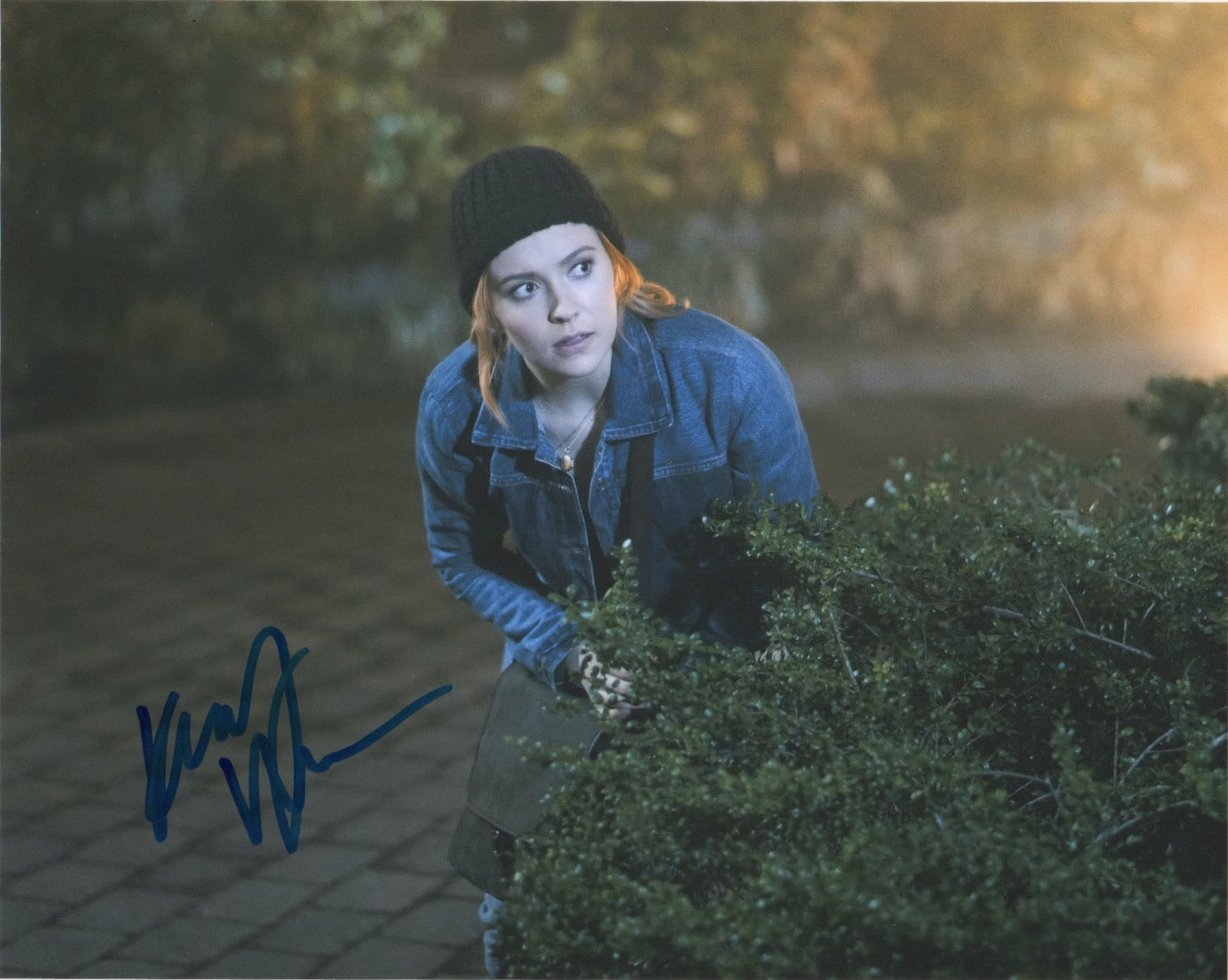Kennedy McMann Nancy Drew Signed Autograph 8x10 Photo #23 - Outlaw Hobbies Authentic Autographs